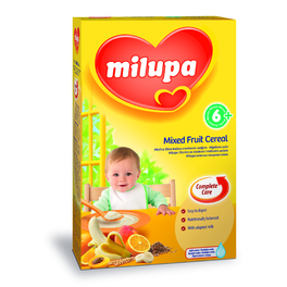 MILUPA MILK CEREAL MIXED FRUIT 250G