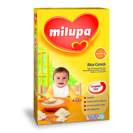 MILUPA RICE CEREAL  (4+)  250G
