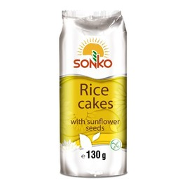 SONKO RICE CAKES WITH SUNFLOWER SEEDS 1+1 FREE