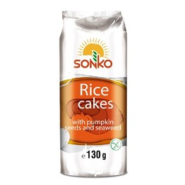 SONKO RICE CAKES WITH PUMPKIN 1+1 FREE