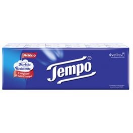 TEMPO HANKY CLASSIC SINGLE PACK x12