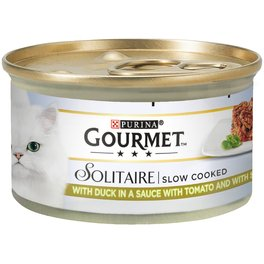 GOURMET SOLITAIRE GIG DUCK & VEGETABLE 85G
