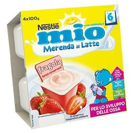 MIO MERENDA STRAWBERRY 4x100G