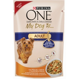 PURINA MYDOGIS ADULT GIG CHICKEN & CARROT 100G
