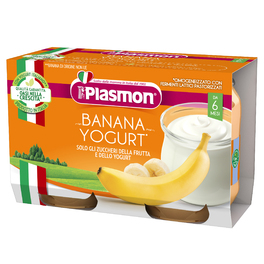 PLASMON YOGURT BANANA 120G x2