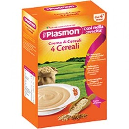 PLASMON CREAM 4 CEREALS 200G