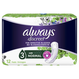 ALWAYS DISCREET NORMAL X12 (NEW)