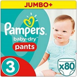PAMPERS JUMBO PANTS 3 MIDI x80