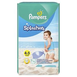 PAMPERS CP SPLASHERS 4 MAXI X11