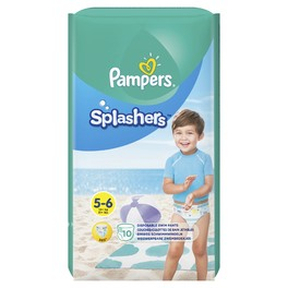 PAMPERS CP SPLASHERS 5 JUNIOR X10