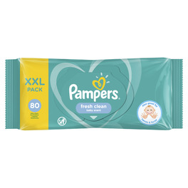 PAMPERS WIPES FRESH CLEAN X80