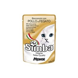 SIMBA CAT POUCHES CHICKEN & LIVER 100G
