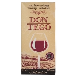 DON TEGO RED WINE BRIK 1L