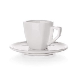 BANQUET CUP WITH SAUCER ALBA SQ 60ML 60S59923