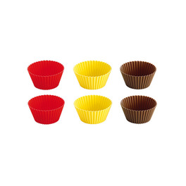 TESCOMA SILICONE BAKING CUP6P