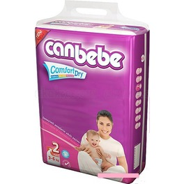 CANBEBE NAPPIES MINI N2 40PK